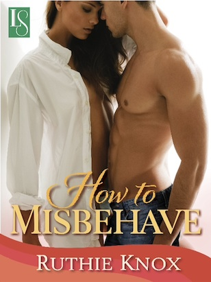 Coffee Pot Reviews: How to Misbehave & Along Came Trouble by Ruthie Knox