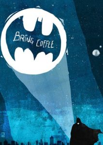 coffee bat signal