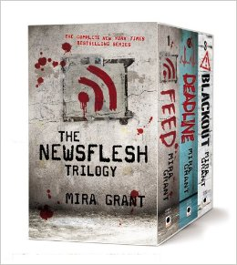 Newsflesh Trilogy by Mira Grant Boxed Set