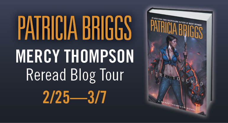 MERCY THOMPSON Reread Blog Tour Banner