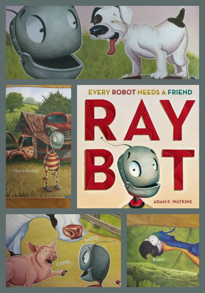 Raybot Collage