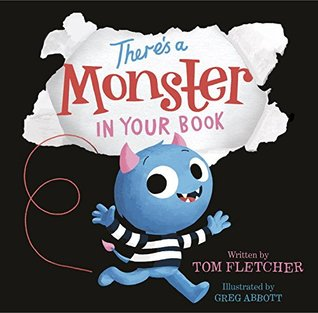 Nonna's Corner: There's a Monster in Your Book by Tom Fletcher