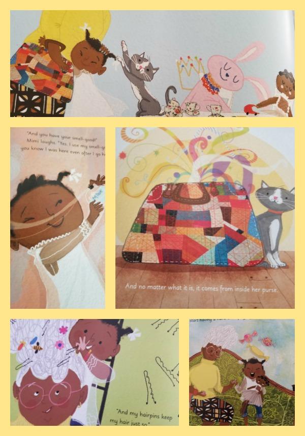 Grandma's Purse Collage