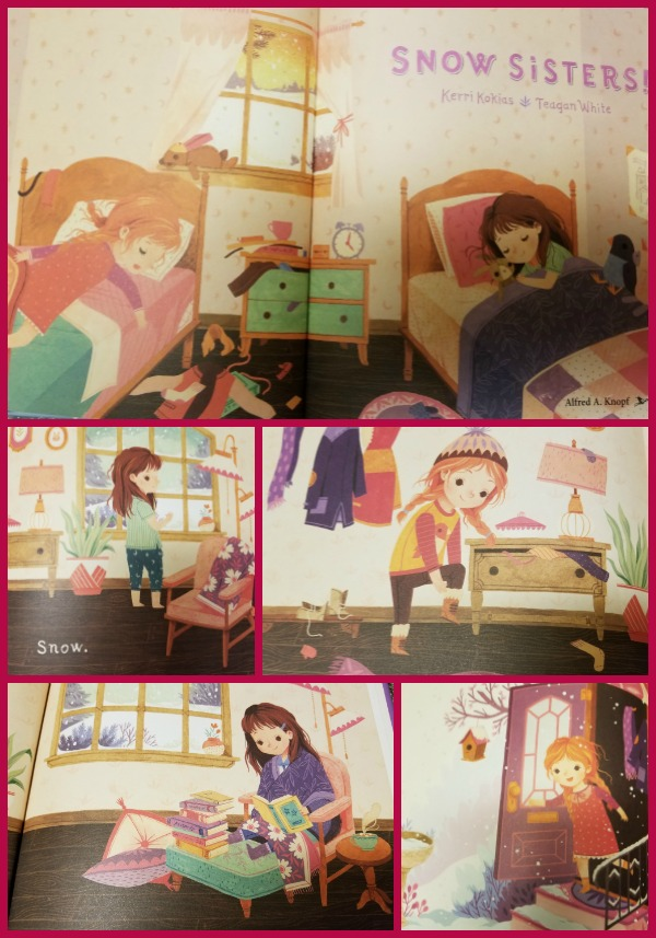 Snow Sisters Collage