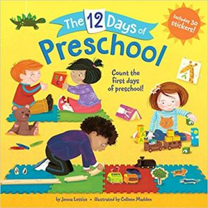 The 12 Days of Preschool by Jenna Lettice