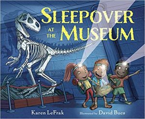 Nonna's Corner: Sleepover at the Museum by Karen LeFrak