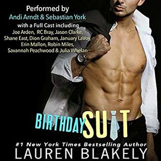 🎂 Birthday Suit by Lauren Blakely 🎧