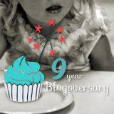 Nine Year Blogoversary 🧁
