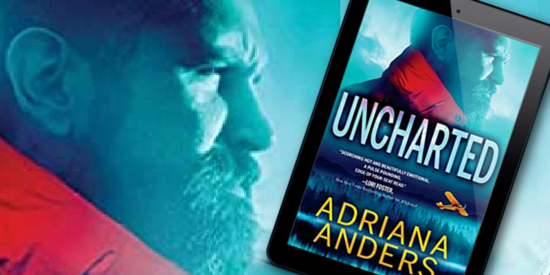 Uncharted by Adriana Anders Banner