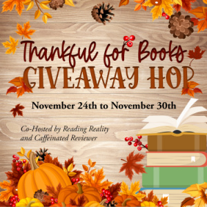 Thankful for Books Giveaway Hop 2021